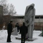 Возложение венков к памятнику Скорбящей матери День выводаи войск из Афганистана