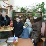 Воспитанники СРЦН в школе с. Столыпино