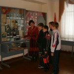 В краеведческом музеи МБОУ СОШ №2