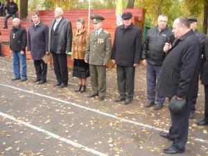Первое открытие соревнований памяти В.П.Квышко