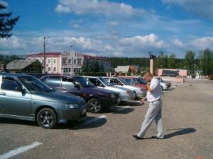 Соревнования по вожденю автомобиля среди такси Атланта2
