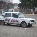 Соревнования по фигурному вождению автомобиля