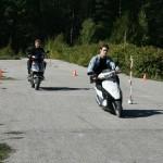Соревнования скутеристов