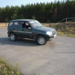 Фигурное вождение автомобиля. На дистанции Судебные приставы