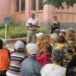 Час по безопасности дорожного движения в  детском саде №7