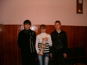 Школа 2 Победители стрелкового поединка памяти В.Секнина